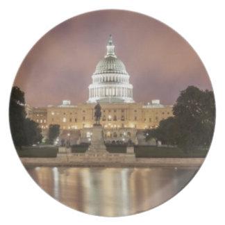 Washington DC, Capitol Building Plate