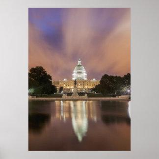 Washington DC, Capitol Building Poster