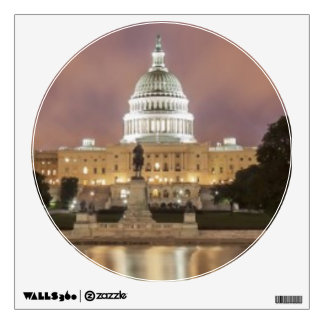Washington DC, Capitol Building Wall Sticker