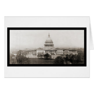 Washington DC Capitol Photo 1906 Greeting Cards