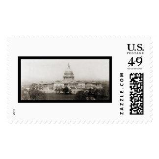 Washington DC Capitol Photo 1906 Postage Stamp