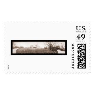 Washington DC Capitol Photo 1909 Postage Stamp