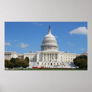 Washington DC Capitol USA Print