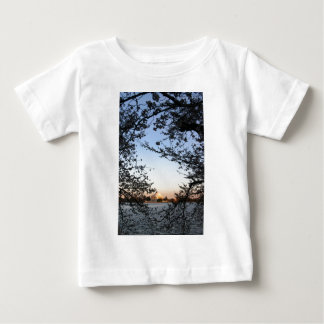 Washington DC Cherry Blossom Baby T-Shirt
