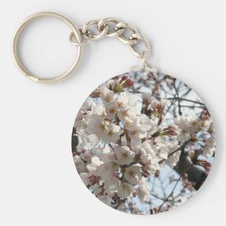 Washington DC Cherry Blossom Basic Round Button Keychain