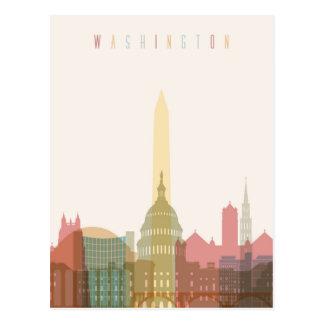 Washington, DC   City Skyline Postcard