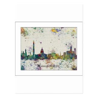 WASHINGTON DC  city skyline, Washington DC print, Post Cards