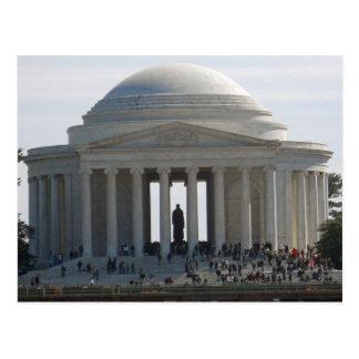 Washington DC conmemorativo 002 de Jefferson Postal