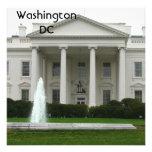 Washington DC Custom Invite