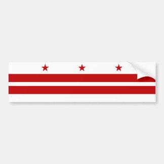 Washington DC/D.C. Distrito Columbia Estados Unido Pegatina Para Auto