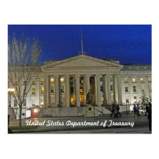Washington DC del departamento del Tesoro de Estad Postales