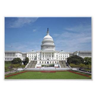 Washington DC del edificio del capitolio de los E. Cojinete