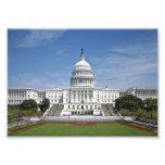 Washington DC del edificio del capitolio de los E. Impresión Fotográfica