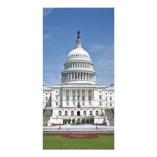 Washington DC del edificio del capitolio de los E. Tarjetas Personales
