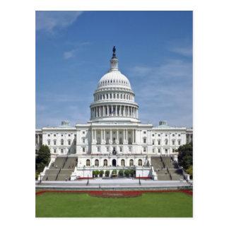 Washington DC del edificio del capitolio de los E. Tarjetas Postales