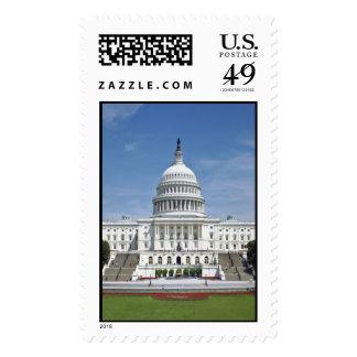Washington DC del edificio del capitolio de los Sellos