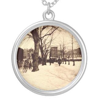 Washington DC del vintage del collar de la plata e