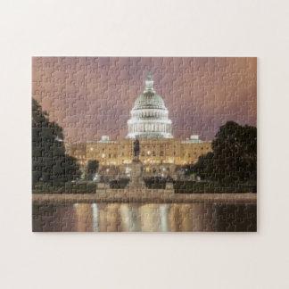 Washington DC, edificio del capitolio Puzzle