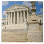 Washington, DC, edificio del Tribunal Supremo Azulejos