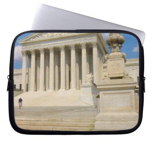 Washington, DC, edificio del Tribunal Supremo Fundas Portátiles