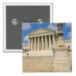 Washington, DC, edificio del Tribunal Supremo Pin Cuadrada 5 Cm