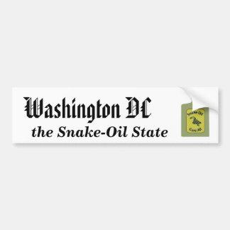 Washington DC, el estado del ungüento mágico Pegatina Para Auto