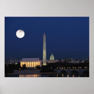 Washington DC en la noche Impresiones