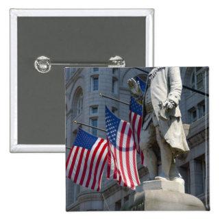 Washington, DC, estatua de Benjamin Franklin Pin