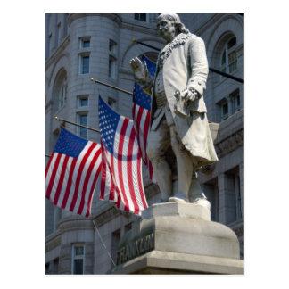 Washington, DC, estatua de Benjamin Franklin Postal