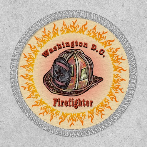 Washington DC Firefighter Patch