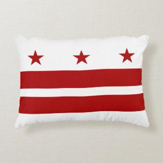 Washington DC Flag Accent Pillow