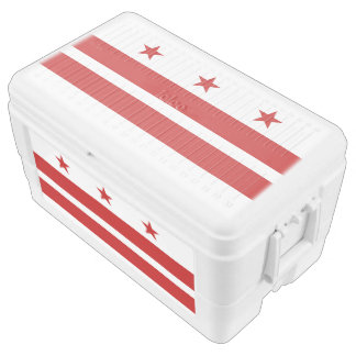 Washington DC flag Chest Cooler