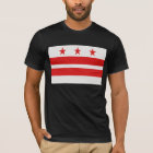 Washington DC Flag - District of Columbia T-Shirt