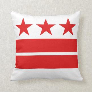 Washington DC Flag Pillow
