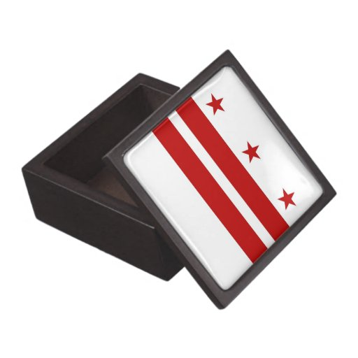 Washington DC Flag Premium Gift Box