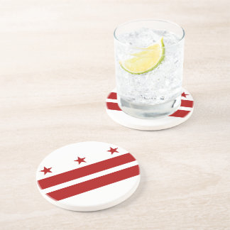Washington DC Flag Sandstone Coaster