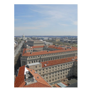 Washington DC from the Old Post Office Tower Postcard