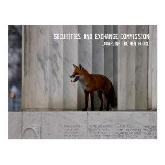 Washington, DC: Humor del SEC Postales