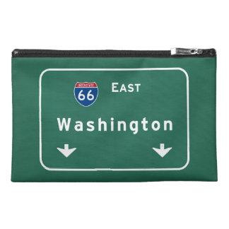 Washington dc Interstate Highway Freeway Road : Travel Accessories Bag