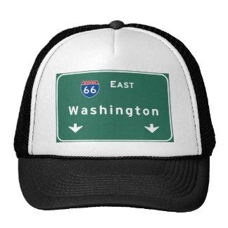 Washington dc Interstate Highway Freeway Road : Trucker Hat