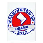 Washington DC Invitación 12,7 X 17,8 Cm