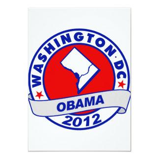 Washington DC 5x7 Paper Invitation Card