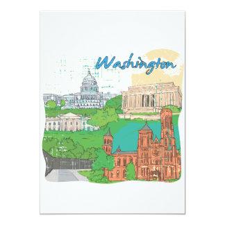 Washington DC Personalized Announcement