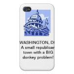 Washington DC iPhone 4/4S Cover