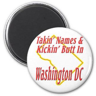 Washington DC - Kickin' Butt Magnet