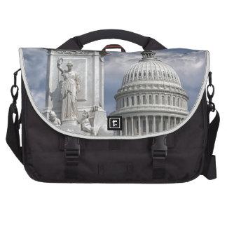 Washington DC Laptop Messenger Bag