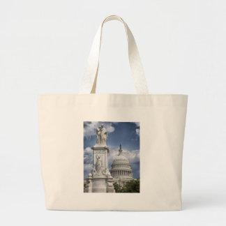 Washington DC Large Tote Bag