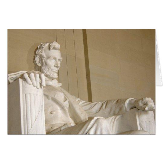 Washington, DC, Lincoln Memorial Card