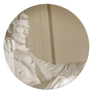 Washington, DC, Lincoln Memorial Party Plate