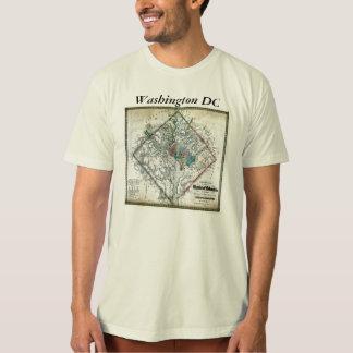 Washington DC  Map and Flag Shirt